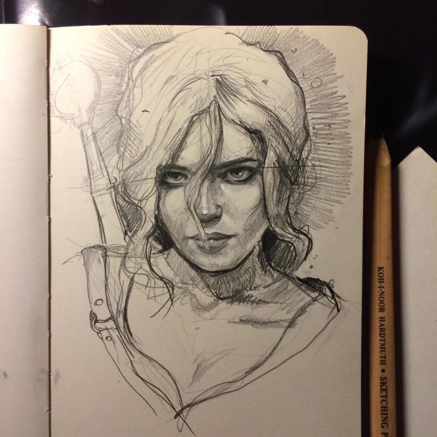 Ciri by MaryRiotJane