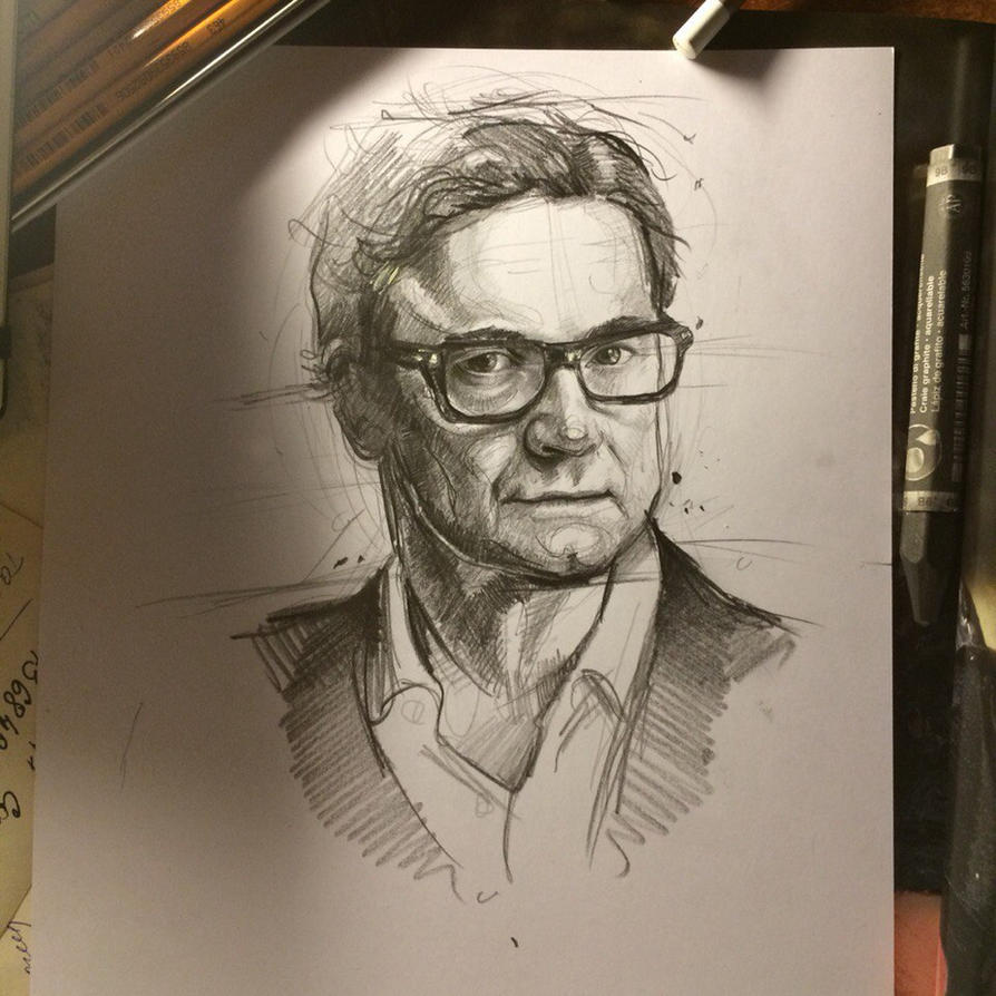 Colin Firth by MaryRiotJane