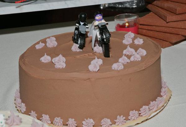LEGO WEDDING CAKE TOPPER By B Spoke