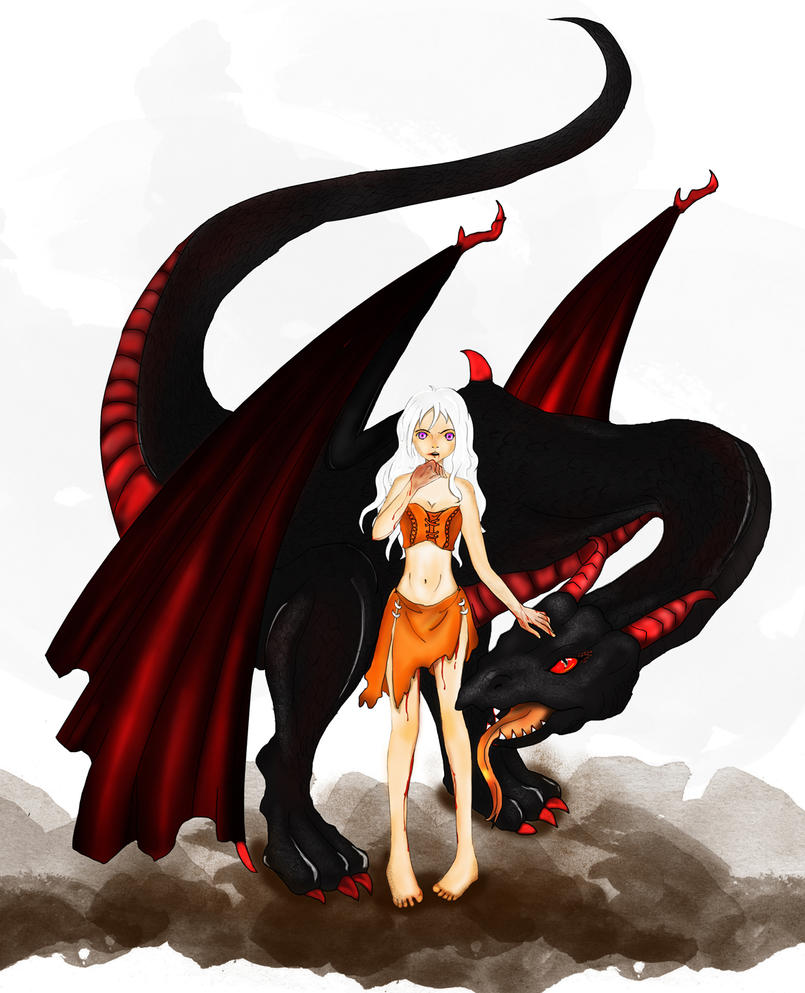 Danaerys: Mother Of Dragons by yu-shen