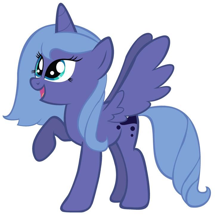My little pony filly luna - photo#31