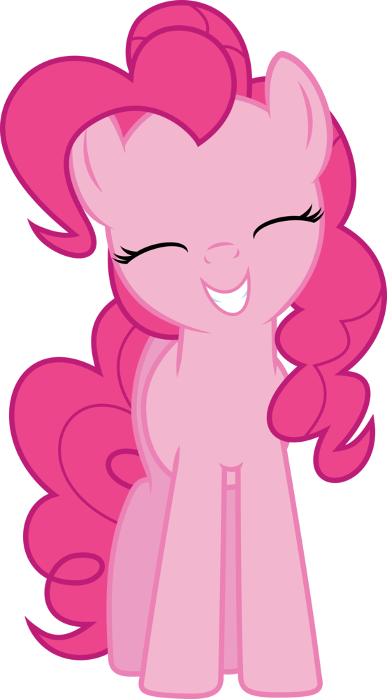 (Second) Pinkie Pie vector by luis999999