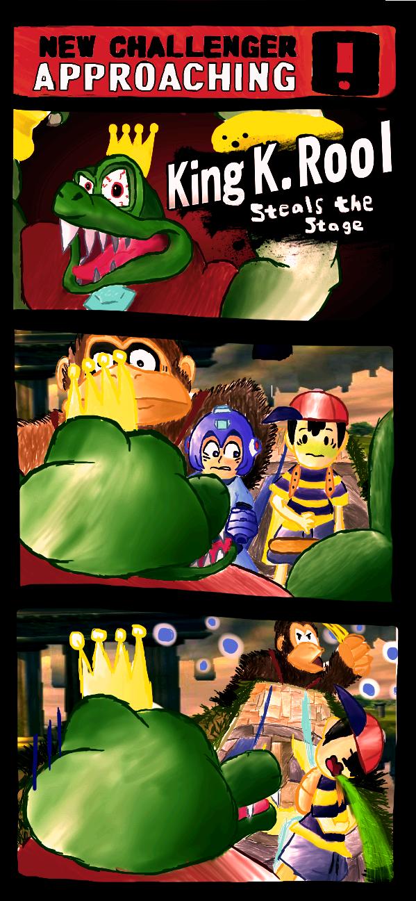 Super Smash Bros: King K. Rool by Sergeplex