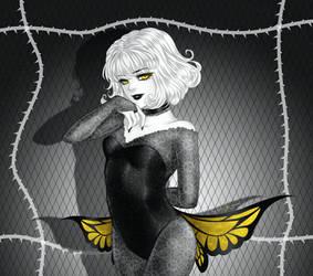 Night Butterfly - sketch
