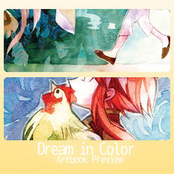 Dream in Color Artbook Preview by akinohara