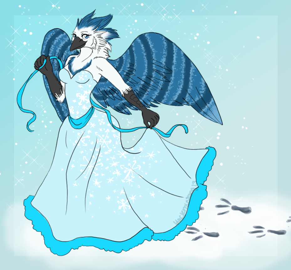snow princess by blackmustang13