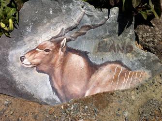 Eland Rock Art by silvercrossfox