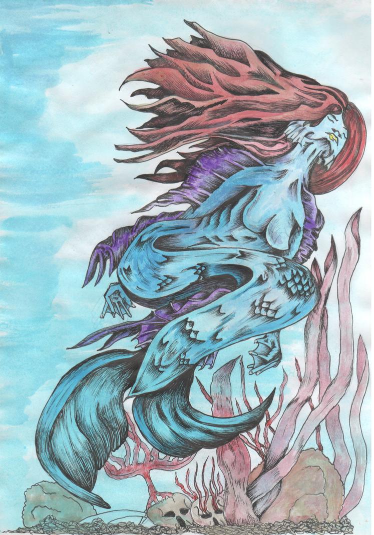 Mermaid by Abigtreehugger