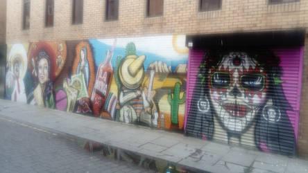 Street art Liverpool.