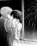 Usio x Misaki  Maid-sama kiss