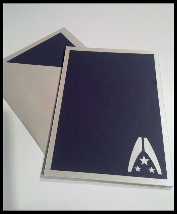 Mass Effect: Alliance themed stationery. by viciouspretty