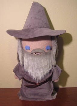 LoTR gandalf the grey plush, chibi style!