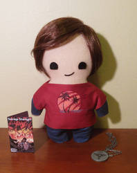 the last of us ellie plush, chibi style!