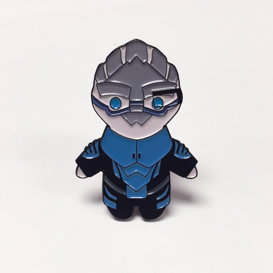 Mass Effect Garrus enamel pin. by viciouspretty