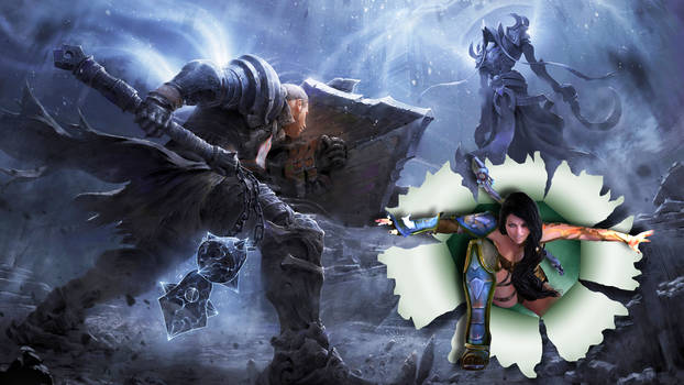 Diablo 3 torned poster