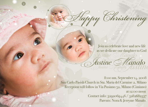 Christening invitation by phatik on deviantart christening invitation by phatik stopboris Image collections
