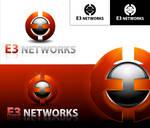 e3 network logo concept