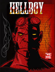 Hellboy Cover by ViniVix