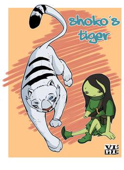 Shoko's Tiger By Vini