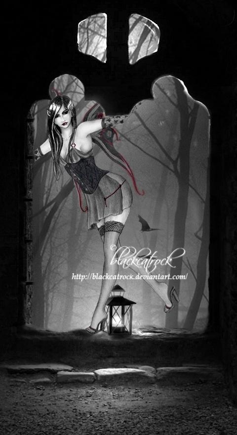 Dark fae by blackcatrock