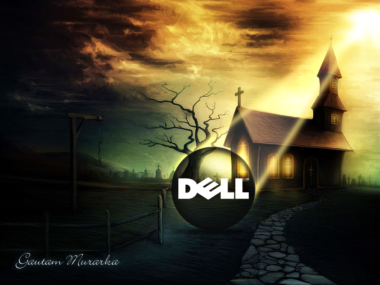 Dell Wallpaper Gautam Murarka by gautamm on deviantART
