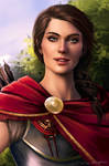 Kassandra Assassin's Creed (Patreon portraits)