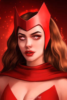 Scarlet Witch (Patreon Portraits)