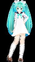 [MMD Model Dl!] School Girl Miku