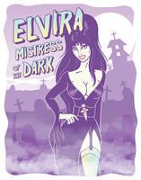 Elvira - Mistress Of The Dark by ValeXn