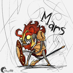 Mars by Corvus007