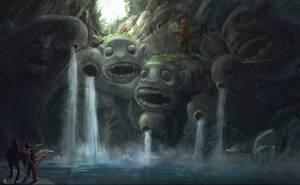 monkey cave by kayinkspot