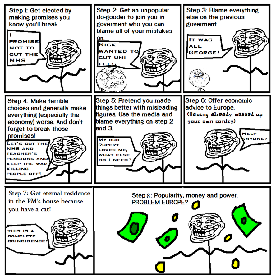 troll face comic vol 4 how to be rich by kyurem600 on deviantart