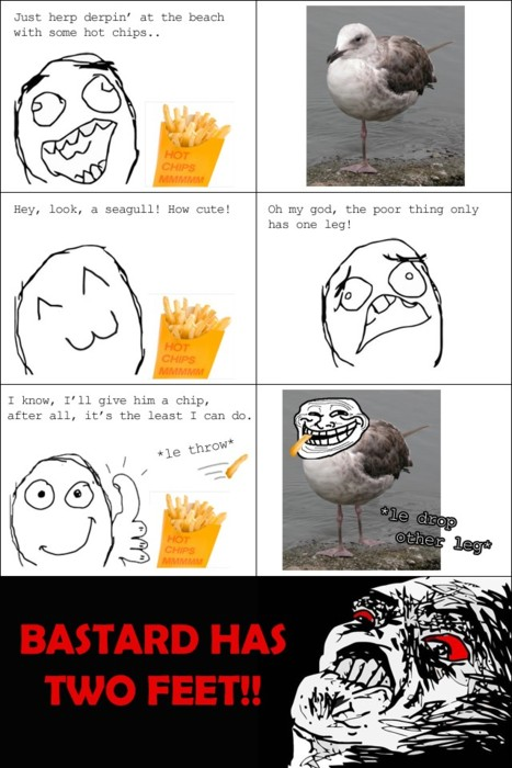 Troll Face comic Vol. 11: The seagull problems by ...