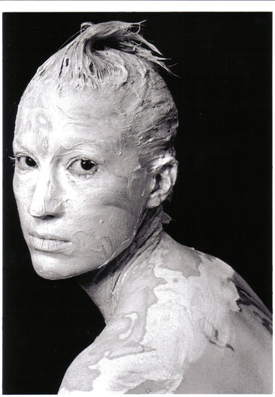 Self Portrait in Clay by liquidether