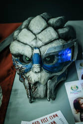 Garrus mask. 1st build. by liqsun307