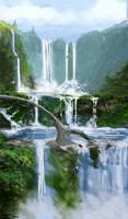 Magis Falls - Sketch