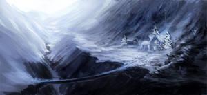 Snow Valley - Sketch