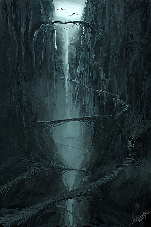 Valley Of The Shadow Of Death By Mediamaster On Deviantart
