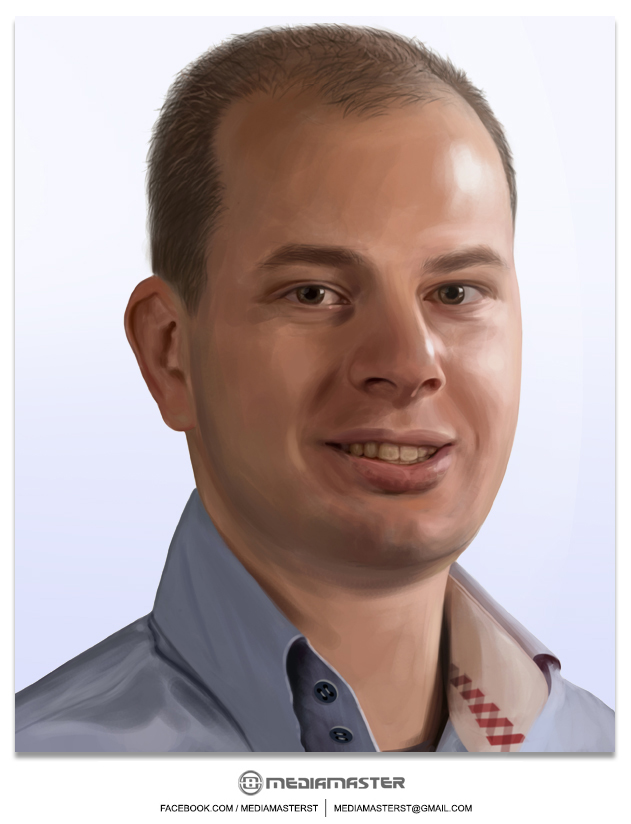 Robin Gordijn - Commissioned Portrait by mediamaster