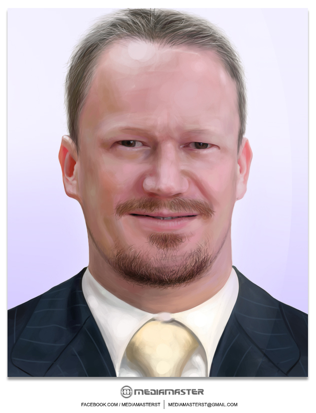 Remko de Jong - Commissioned Portrait by mediamaster