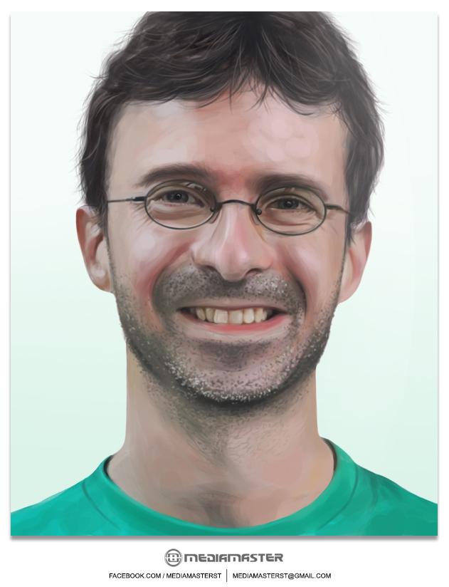 Gideon Schipper - Commissioned Portrait by mediamaster