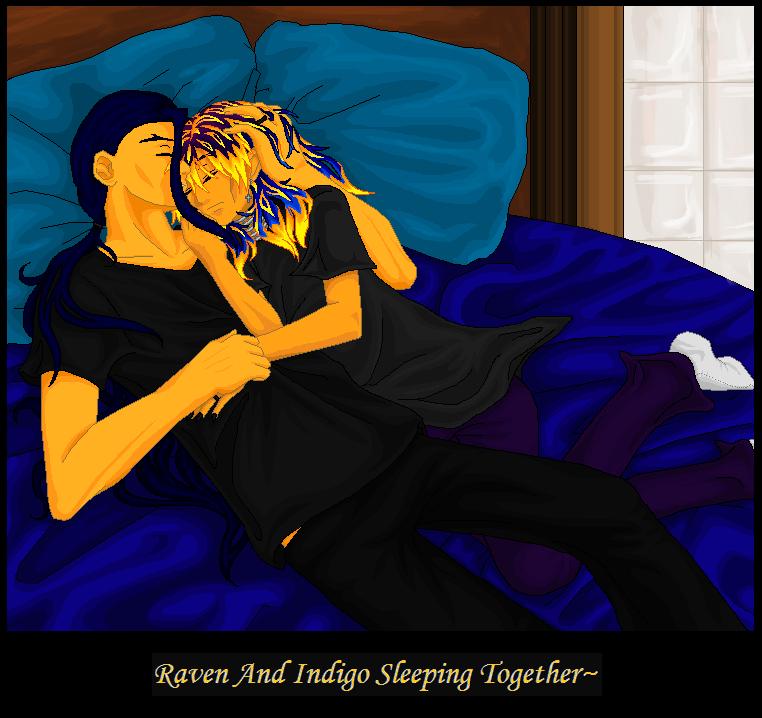 Sleeping Together~ by IndigoOfTheHeavens