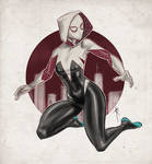 Gwen Stacy as Spider Woman