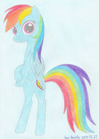 Rainbow Dashie by EgonDaLatz