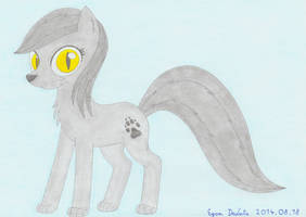 Night Breeze, the lycan pony