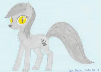 Night Breeze, the lycan pony