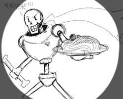 Undertale - Papyrus by ShanlyMarker