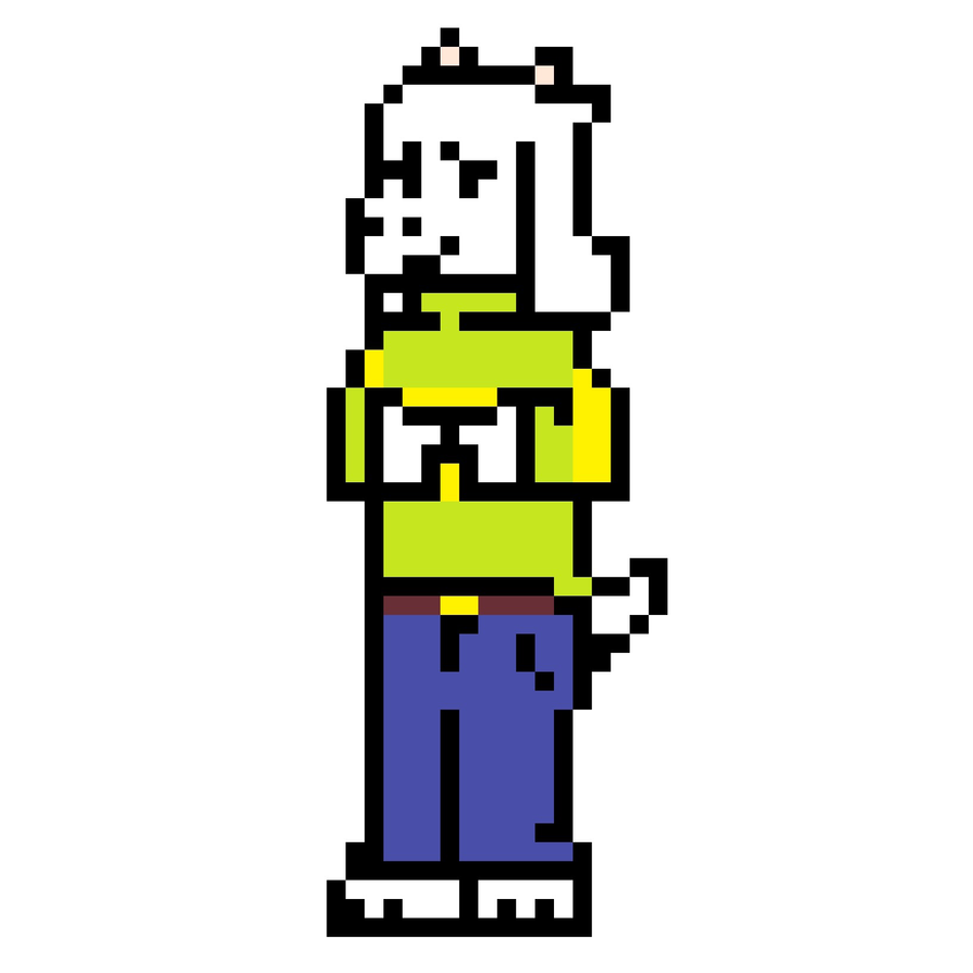 Temmie Pixel Art Grid Switchsecuritycompanies