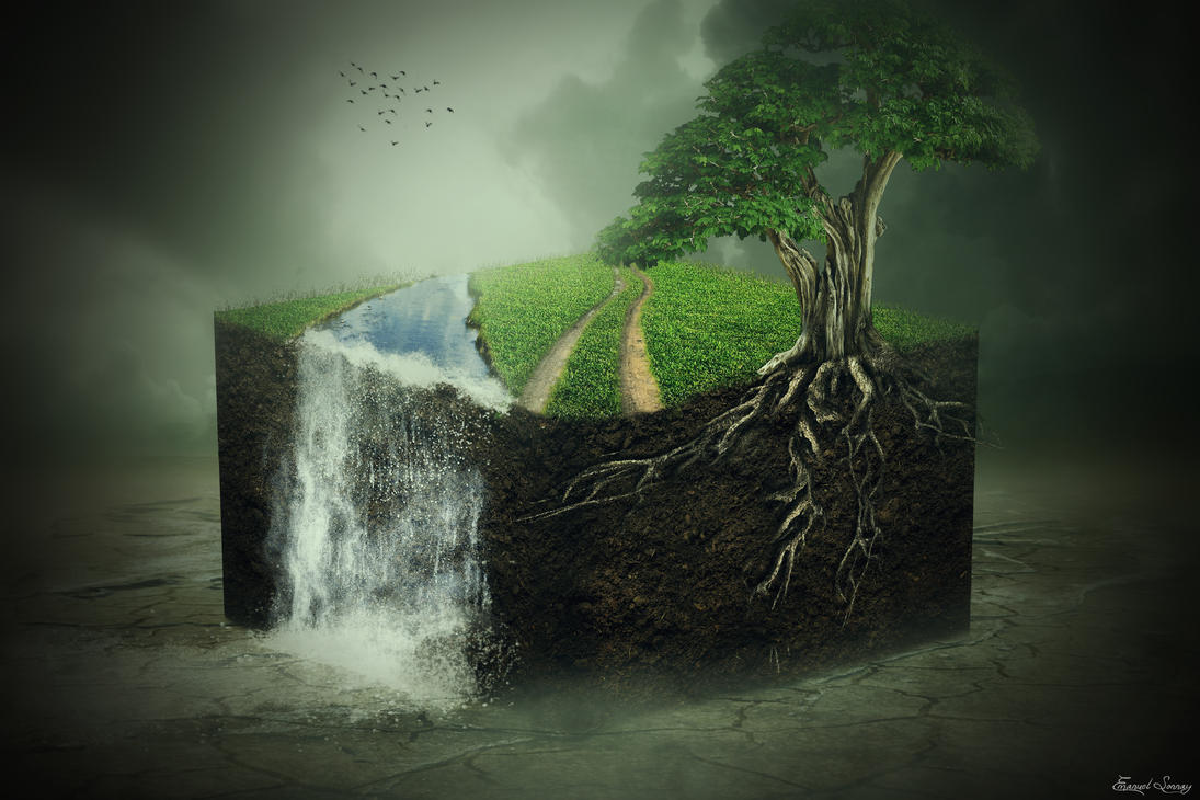 3D Nature Cube by ManuxGame
