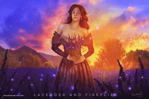 Lavender and Fireflies
